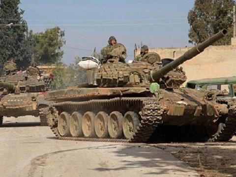 Quân đội Syria phá nát nhiều trung tâm chỉ huy của IS ở khắp Dara'a - 1