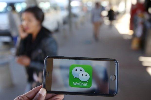 Các nữ sinh thường sử dụng ứng dụng WeChat để bắt khách. (Nguồn: Thestar.com.my)
