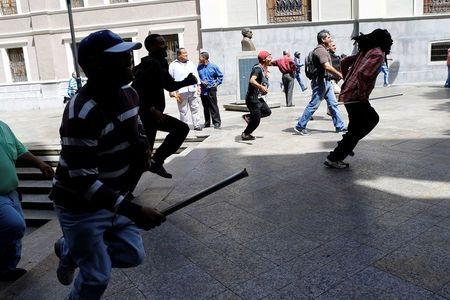 Người biểu tình Venezuela (Ảnh minh họa).