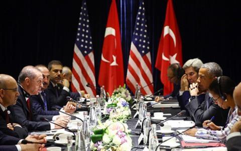 Tổng thống Obama hội đàm với Tổng thống Erdogan bên lề Hội nghị thượng đỉnh G20 tại Hàng Châu (Trung Quốc).
