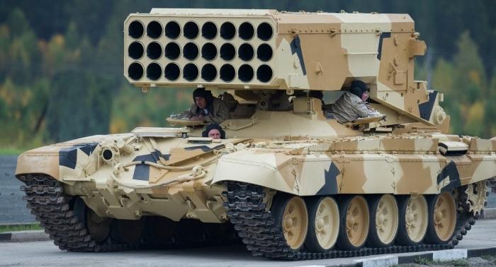Pháo phản lực phóng loạt TOS-1