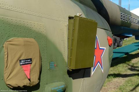Hệ thống Rychag-AV trên Mi-8MTPR-1.
