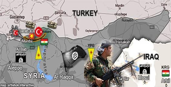 Mỹ kiến tạo luôn thắng trong cuộc chiến Syria! - 1
