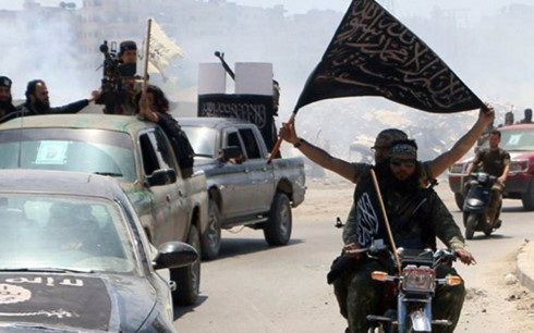 Các tay súng của nhóm Jabhat al-Fateh Sham. (Ảnh: Getty)