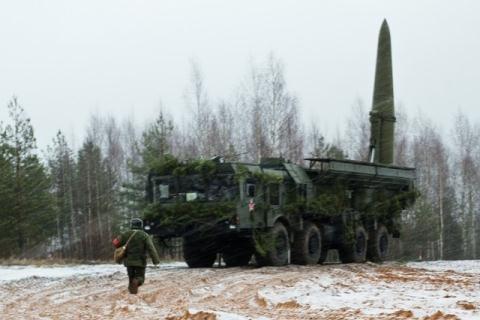 Tên lửa Iskander-M của Nga.
