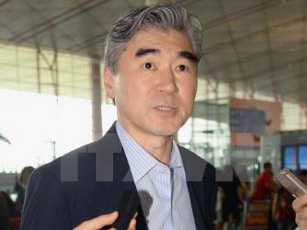 Đặc phái viên của Mỹ về chính sách Triều Tiên Sung Kim. (Nguồn:Kyodo/TTXVN)