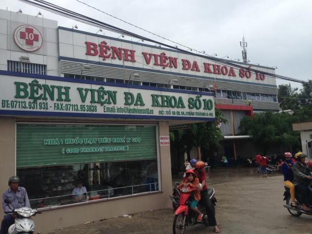 Bệnh viện nơi 3 mẹ con sản phụ Trúc tử vong và nguy kịch