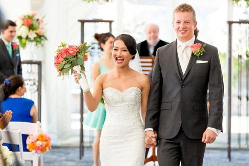 Tuyền Tâm hạnh phúc bên người chồng Mỹ