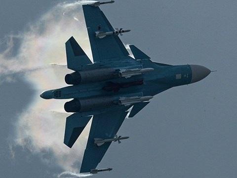 Máy bay chiến đấu Su-34 của Nga