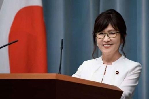 Bộ trưởng Quốc phòng Nhật Bản, bà Tomomi Inada.