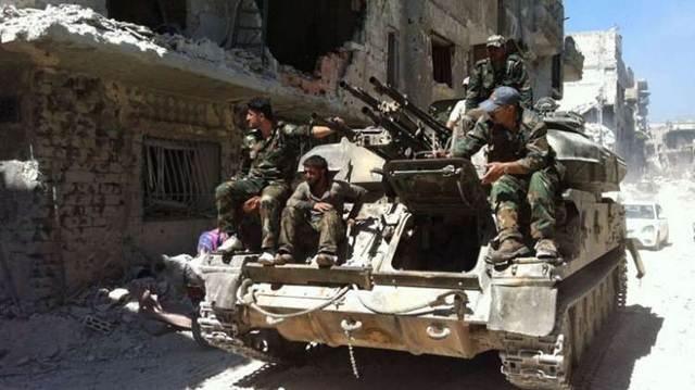 ZSU -23-4 Shilka tại Aleppo