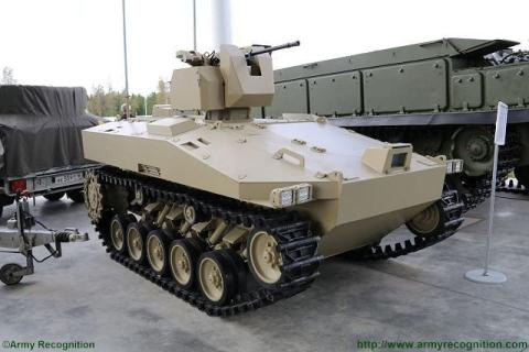 Tập đoàn Kalashnikov ra mắt phương tiện chiến đấu Soratnik.