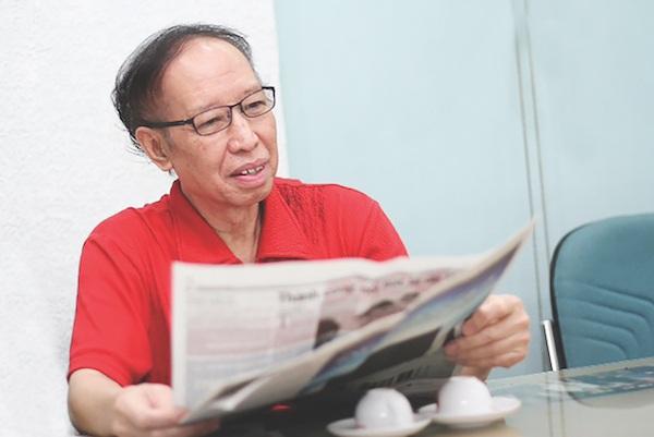 Ông Phạm Huy Hoàn – Tổng Biên tập báo điện tử Dân trí.