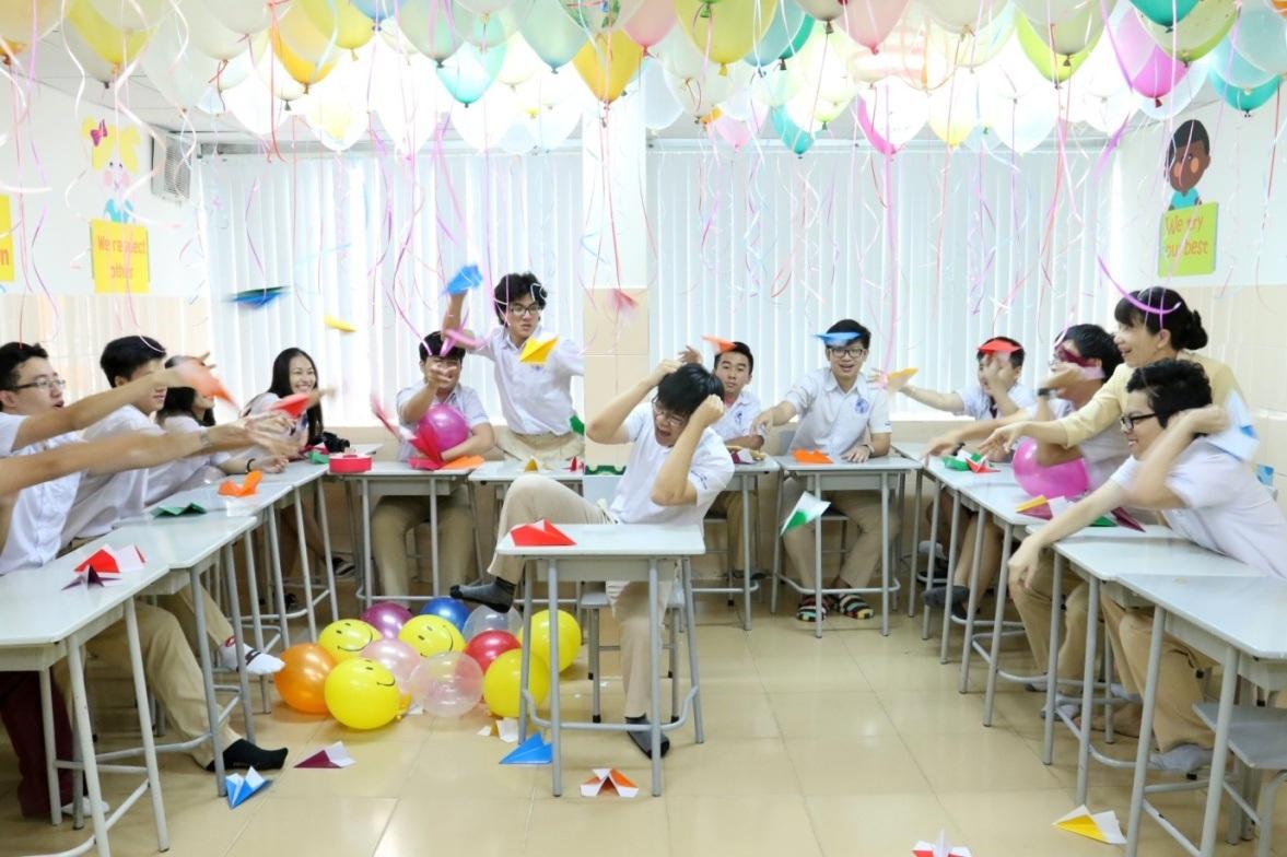 Học tập trong môi trường quốc tế năng động, các bạn học sinh Trường Quốc tế Á Châu thể hiện sự hoạt bát, vui nhộn của mình trong mọi hoạt động.