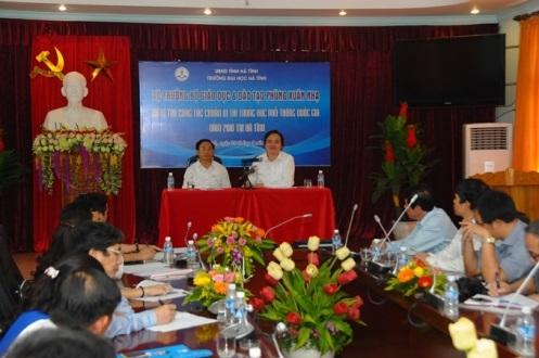 Bộ trưởng Phùng Xuân Nhạ trực tiếp kiểm tra công tác chuẩn bị thi tại Hà Tĩnh - 1