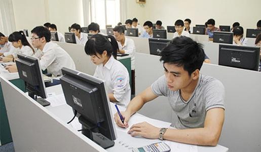 Thí sinh dự thi vào ĐH Quốc gia Hà Nội