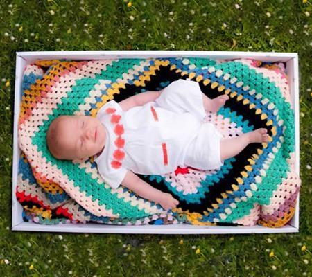 Bí ẩn những chiếc hộp tặng cho trẻ sơ sinh ở Anh - 1