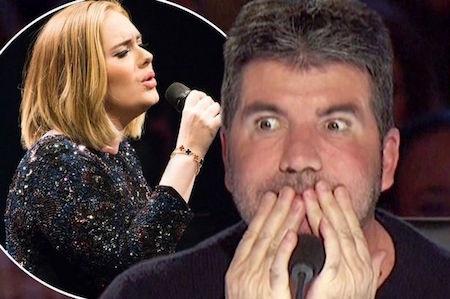 Simon Cowell không hề thích nghe nhạc của Adele