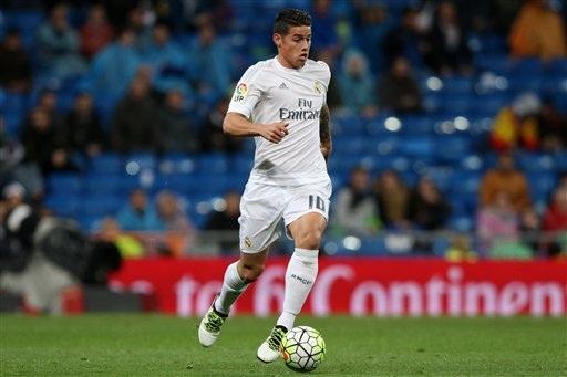 Jame Rodriguez từ chối lời mời hấp dẫn để quyết tâm bám trụ Real Madrid