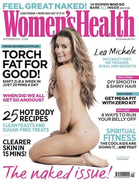 Lea Michele nude táo bạo trên tạp chí