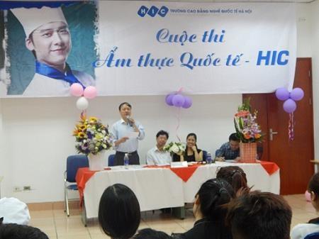 Các cuộc thi tay nghề thường xuyên được tổ chức tại Trường CĐN Quốc tế Hà Nội