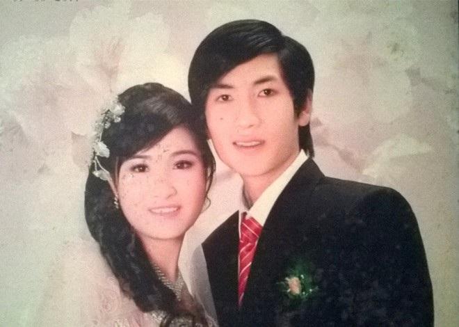 Ảnh cưới của vợ chồng Tuấn