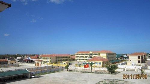 Khu trung tâm xã Kỳ Phương được xây dựng trên khu đồi hoang năm xưa.