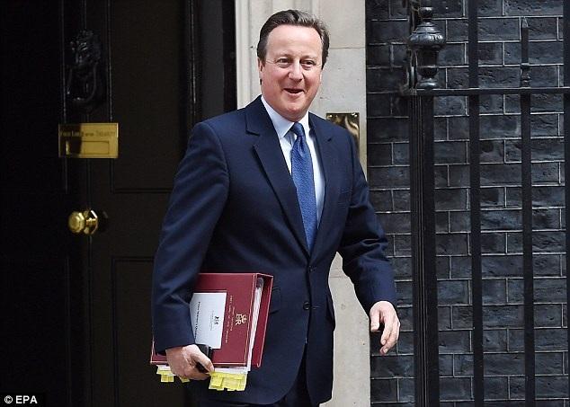 Ông David Cameron khi vẫn còn là người đàn ông quyền lực nhất nước Anh. (Nguồn: EPA)