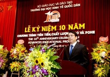 Thứ trưởng Bộ GD&ĐT Phạm Mạnh Hùng phát biểu tham dự chương trình