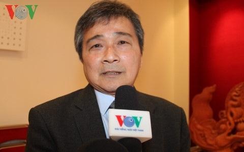 Chủ tịch Hội người Việt Nam tại Pháp Ngô Kim Hùng.
