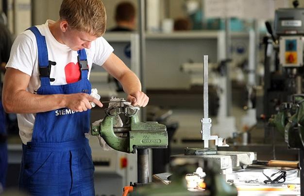 Học viên thực tạp tại xưởng