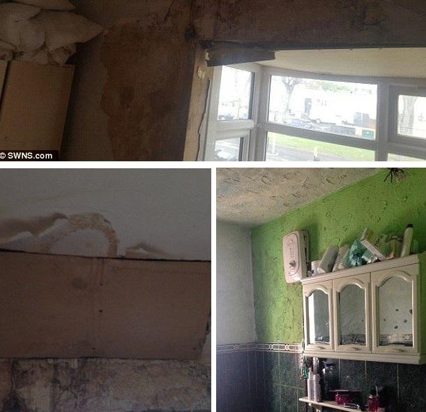 Ngôi nhà được sửa chữa trở nên khác hẳn. (Nguồn: Dailymail)