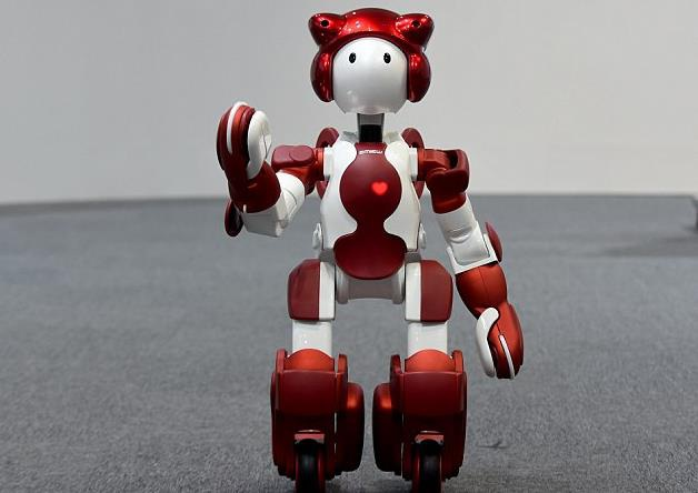 Robot chào đón du khách ở sân bay Nhật Bản - 1