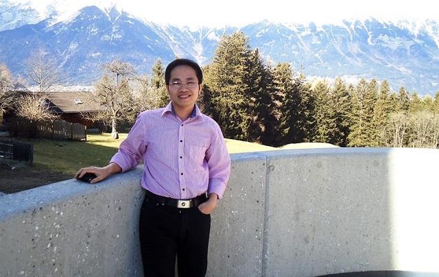 GS Vũ Thái Luân, nghiên cứu và giảng dạy Toán ứng dụng tại ĐH California, Merced.