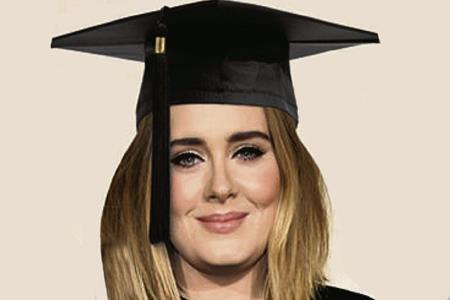 Adele mơ ước được làm một sinh viên đại học
