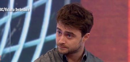 Daniel Radcliffe vừa xuất hiện trong show truyền hình của Victoria Derbyshire