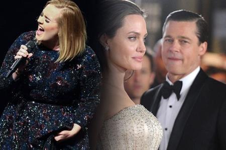 Adele vừa lên tiếng về cuộc chia tay của Brangelina