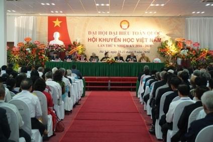 Đại hội Đại biểu Hội Khuyến học Việt Nam lần thứ V (ảnh: Hữu Nghị)