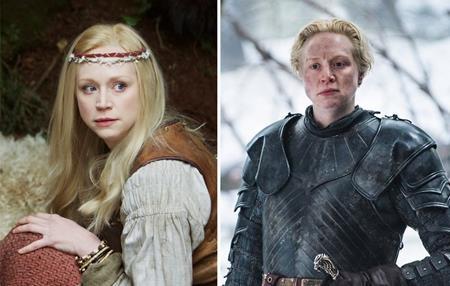 """Nữ chiến binh Brienne xứ Tarth do Gwendoline Christie gây sốc với hình ảnh quá đỗi nữ tính trong phim """"Wizards vs aliens"""""""