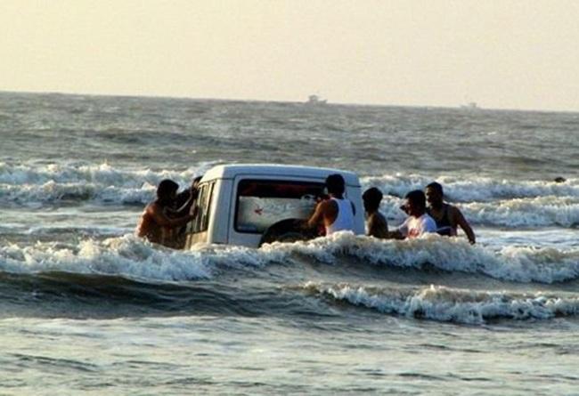 """""""Chộp"""" những hình ảnh """"hiếm thấy"""" trên bãi biển - 11"""