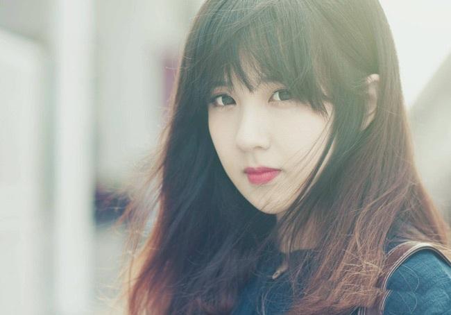 Đôi môi trái tim xinh đẹp của hot girl Hà thành.