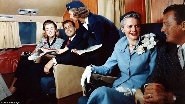 """""""Thượng đế"""" ngành hàng không những năm 50 sang trọng, lịch thiệp cỡ nào? - 11"""