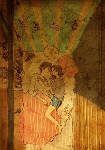 """""""Mềm tim"""" với những bức tranh chứng minh tình yêu đích thực - 11"""