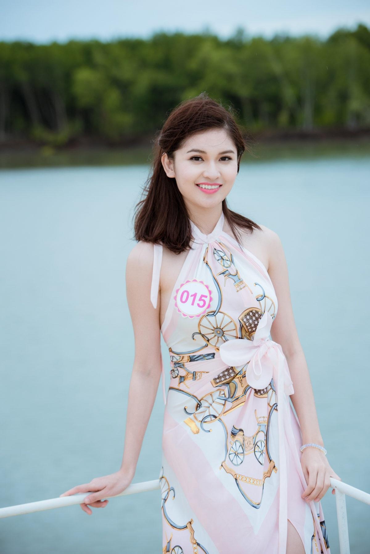 Thí sinh Hoa hậu Việt Nam 2016 gặp sự cố khi thăm đảo khỉ - 12