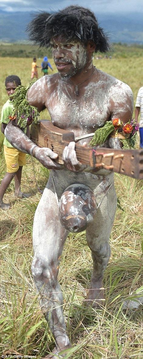Một vài năm gần đây, bộ tộc Dani thu hút khách du lịch từ khắp nơi trên thế giới đến xem họ biểu diễn trận giả trong những trang phục truyền thống
