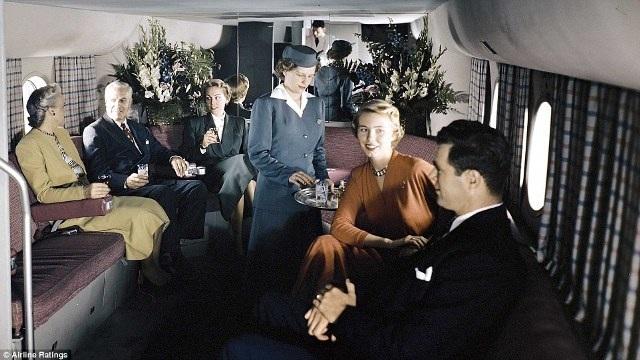 """""""Thượng đế"""" ngành hàng không những năm 50 sang trọng, lịch thiệp cỡ nào? - 12"""