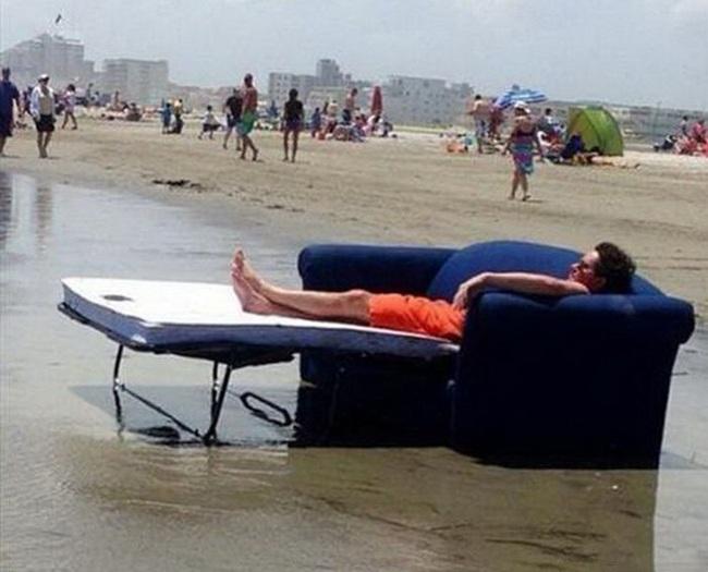 """""""Chộp"""" những hình ảnh """"hiếm thấy"""" trên bãi biển - 13"""