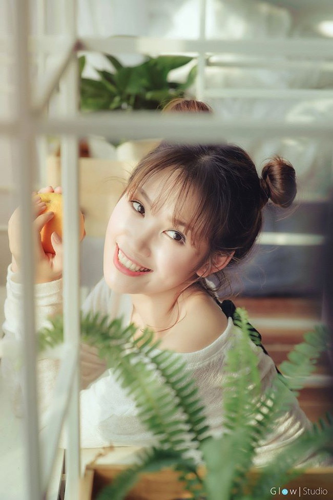 Phương Anh (sinh năm 1993) họcTài chính Ngân hàng, trường ĐH Ngoại thương (Hà Nội).