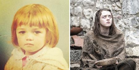 Maisie Williams vẫn luôn là một cô bé cực kỳ dễ thương cho đến khi hóa thân thành một trong những cô con gái nhà Stark