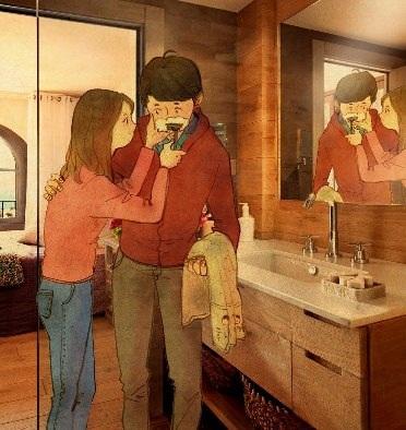 """""""Mềm tim"""" với những bức tranh chứng minh tình yêu đích thực - 15"""